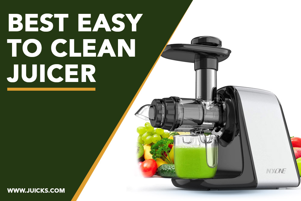 best easy to clean juicer banner