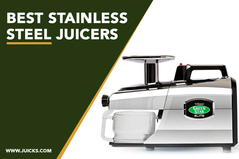 best stainless steel juicer banner