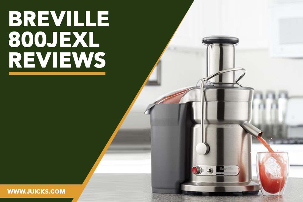Breville 800JEXL Reviews banner