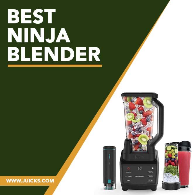 best ninja blender banner