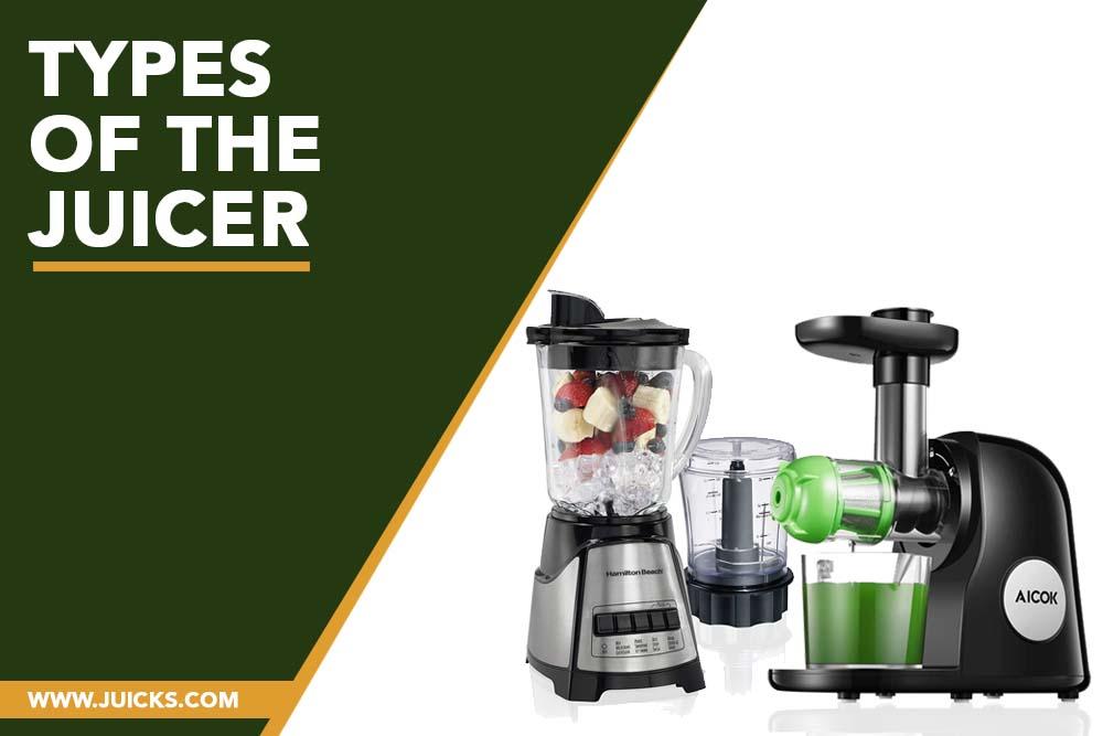 types of juicer