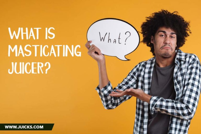 what is masticating juicer
