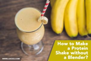 How to Make a Protein Shake without a Blender